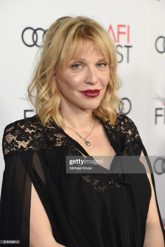 Courtney Love attends the screening of 'The Disaster Artist' at AFI FEST 2017 Presented By Audi on November 12, 2017 in Hollywood, California.