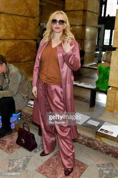 Courtney Love attends the Sies Marjan front row during New York Fashion Week: The Shows on September 08, 2019 in New York City.