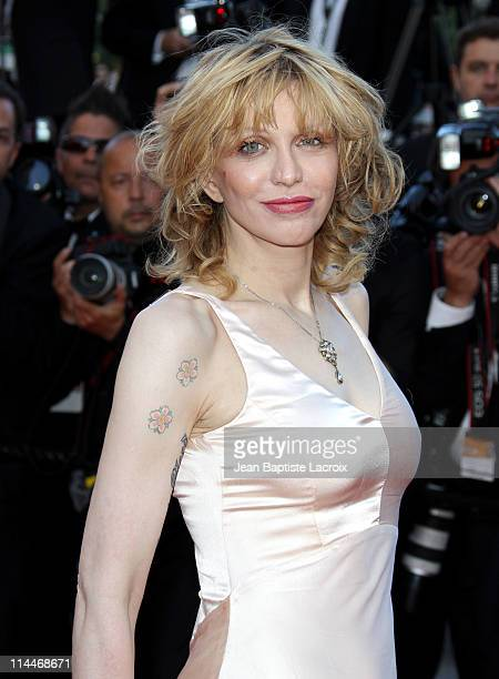 Courtney Love attends the 'This Must Be The Place' Premiere during the 64th Cannes Film Festival at Palais des Festivals on May 20 2011 in Cannes...
