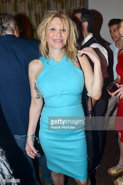 Courtney Love attends The Viewing of CHARLIEWOOD at FAENA Miami Beach Presented by Barrett Barrera Projects and Charlie Le Mindu at Faena Theater on...