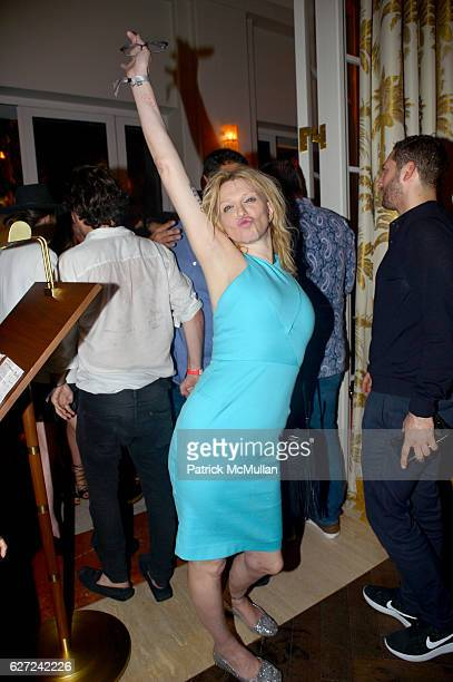 Courtney Love attends The Viewing of 'CHARLIEWOOD' at FAENA Miami Beach Presented by Barrett Barrera Projects and Charlie Le Mindu at Faena Theater...