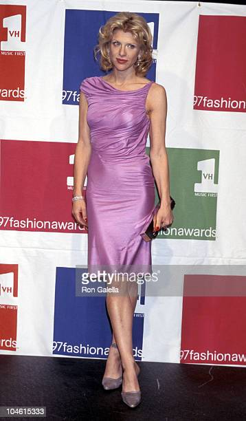Courtney Love during 1997 VH1 Vogue Fashion Awards at Madison Square Garden in New York City New York United States