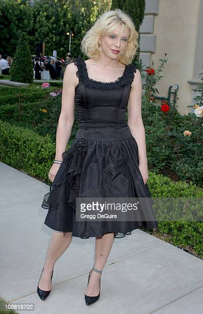 Courtney Love during Chrysalis's 5th Annual Butterfly Ball Arrivals at Italian villa of Carla and Fred Sands in Bel Air California United States