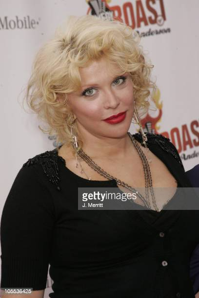 Courtney Love during Comedy Central Roast of Pamela Anderson Arrivals at Sony Studios / Stage 15 in Culver City California United States