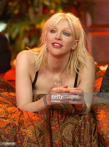 Courtney Love during Courtney Love on MTV2 24 Hours of LOVE at MTV Studios in New York City New York United States