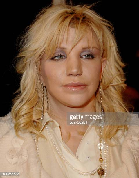 Courtney Love during Freedom Writers Los Angeles Premiere Arrivals at Mann Village Theater in Westwood California United States