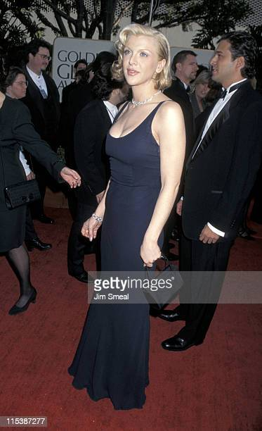 Courtney Love during The 54th Annual Golden Globe Awards at Beverly Hilton Hotel in Beverly Hills California United States