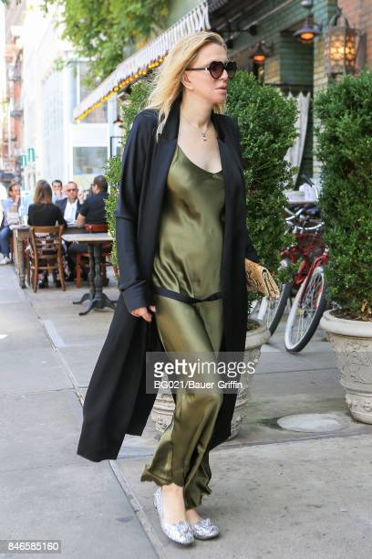 Courtney Love is seen on September 13, 2017 in New York City.