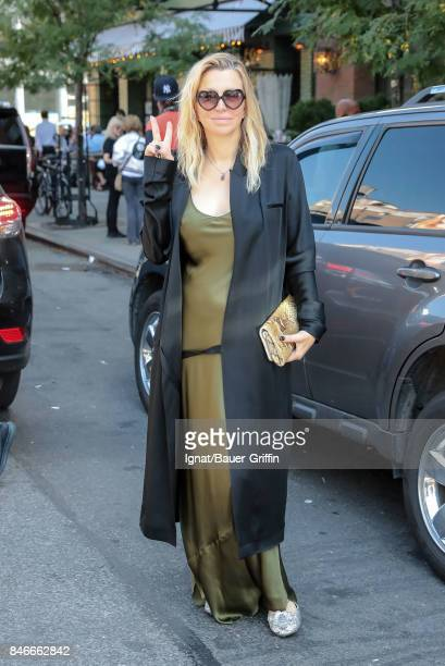 Courtney Love is seen on September 13 2017 in New York City