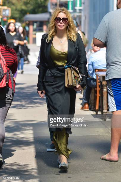 Courtney Love is seen on September 14 2017 in New York City