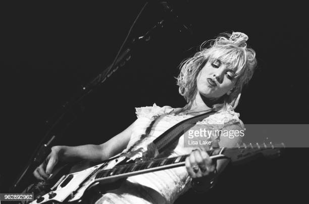Courtney Love performs at Lollapalooza August 1 at FDR Park in Philadelphia Pennsylvania