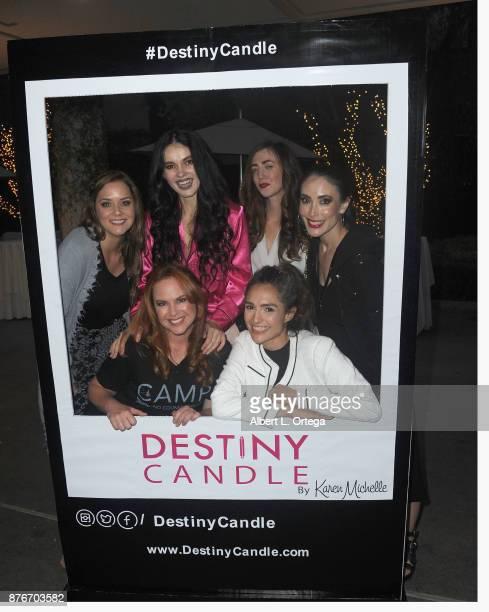 Courtney Moore Natasha Blasick Amber Martinez Mandy Amano Lisa Cash and Nataliyajoy Prieto at the Love Your Body Fashion Show And Shopping Event held...