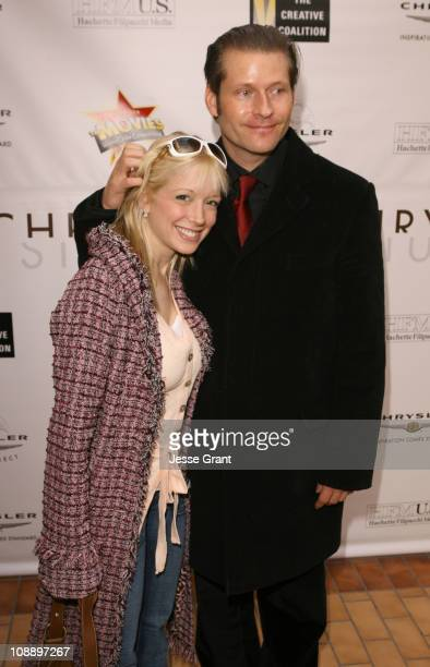 Courtney Peldon and Crispin Glover during 2006 Park City - The Chrysler Studio - Day 3 at 323 Main Street in Park City, Utah, United States.