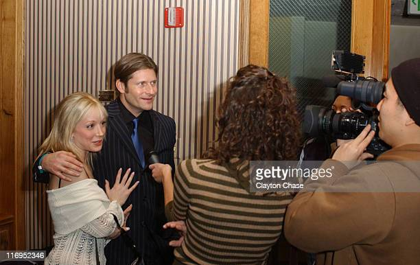 Courtney Peldon and Crispin Glover during 2006 Sundance Film Festival - Opening Night Gala at Park Meadows Country Club in Park City, Utah, United...