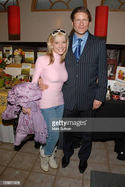 Courtney Peldon and Crispin Glover during 2006 Sundance Film Festival Volkswagen Lounge Produced by Backstage Creations at VW Lounge in Park City...