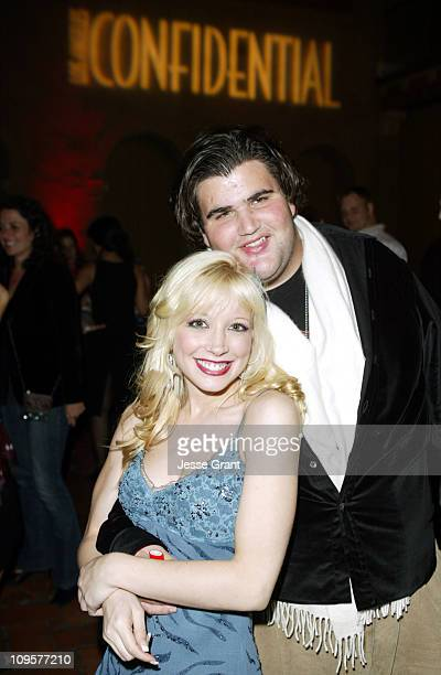 Courtney Peldon and Jason Davis during LA Confidential Magazine and New Line Cinema Host After The Sunset Los Angeles Premiere After Party at...