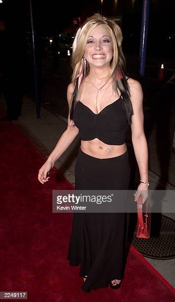 Courtney Peldon at the premiere of 'Say It Isn't So' at the Village Theater in Los Angeles Ca 3/12/01 Photo by Kevin Winter/Getty Images