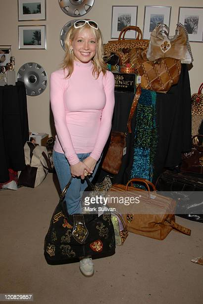 Courtney Peldon during 2006 Sundance Film Festival Volkswagen Lounge Produced by Backstage Creations at VW Lounge in Park City Utah United States