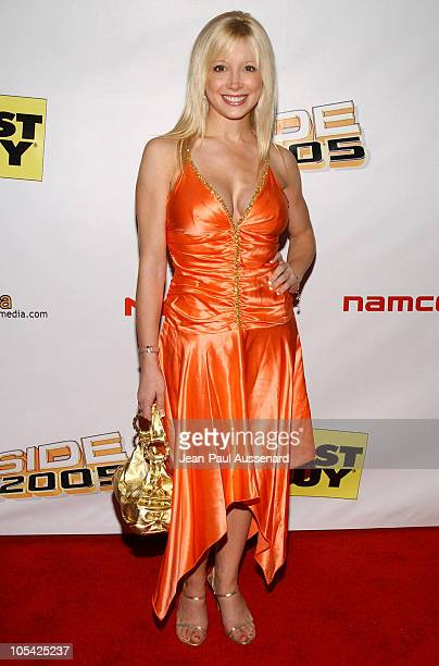 Courtney Peldon during Inside: E3 2005 Party at Avalon Hollywood in Hollywood, California, United States.