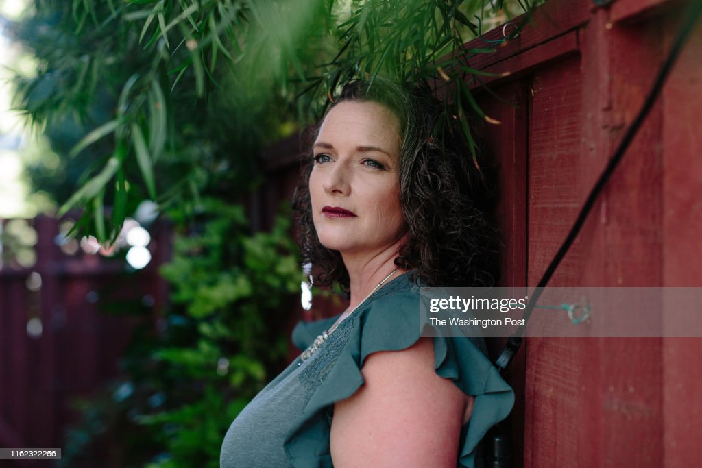 LIVERMORE, CA - AUGUST 15: Courtney Powell, a former model with : News Photo