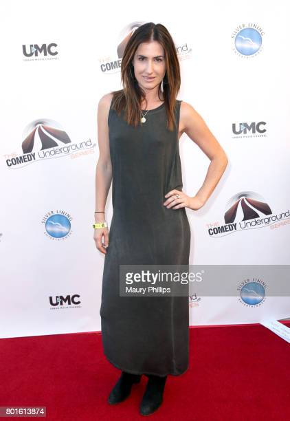 Courtney Scheuerman attends The Comedy Underground Series at The Alex Theatre on June 26, 2017 in Glendale, California.