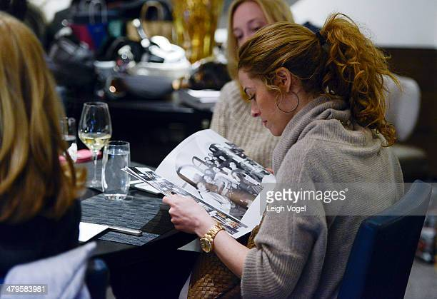 Courtney Schorr attends DuJour's Haley and Jason Binn and Marcy Warren Welcome Malo's John Wilson in Aspen at The Little Nell on March 19 2014 in...