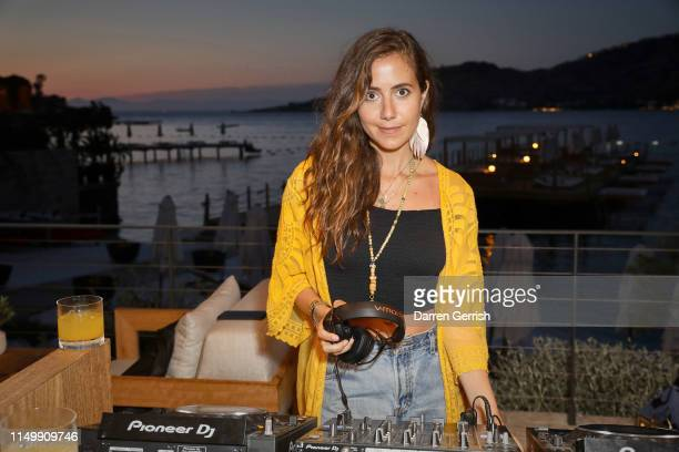 Courtney Scott performs at the Bodrum EDITION opening of the 2019 season on May 17 2019 in Bodrum Turkey