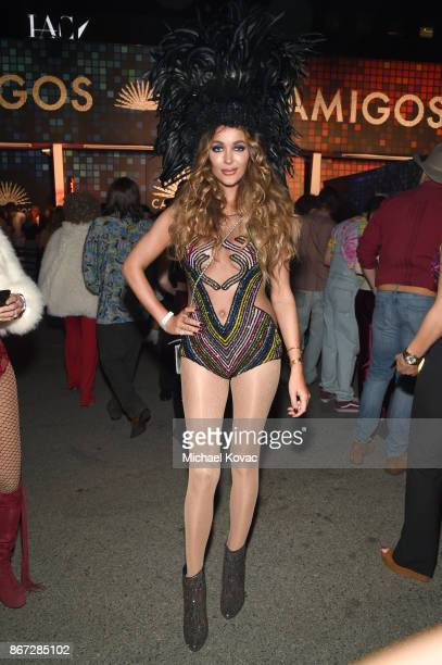Courtney Sixx attends Casamigos Halloween Party on October 27 2017 in Los Angeles California