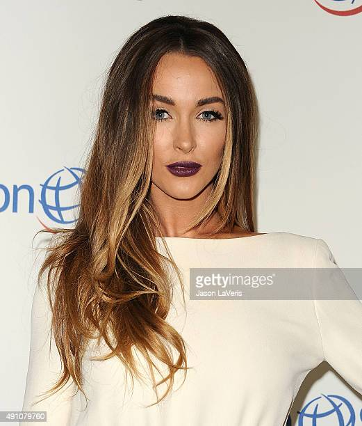 Courtney Sixx attends Operation Smile's 2015 Smile Gala at the Beverly Wilshire Four Seasons Hotel on October 2, 2015 in Beverly Hills, California.
