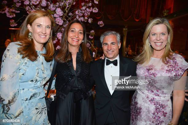 Courtney Stern Alison Levasseur Nicholas Stern and Ashley Whittaker attend LHNH honours Geoffrey Bradfield and John Manice at Cipriani 42nd Street on...