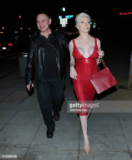 Courtney Stodden and Doug Hutchison are seen on February 14 2016 Los Angeles CA