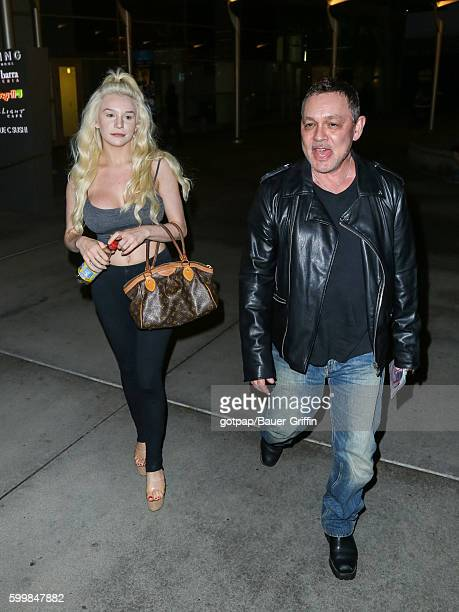 Courtney Stodden and Doug Hutchison are seen on September 06 2016 in Los Angeles California