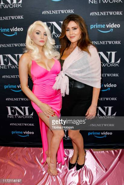 Courtney Stodden and her mom Krista Keller attend the premiere of FNL Network's Courtney a reality show about Courtney Stodden on September 03 2019...