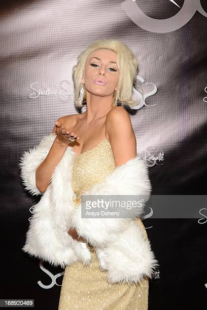 Courtney Stodden attends the Dr Ava Cadell's Sizzling Sexy Summer of 2013 Seminar at Shekhar Rahate Haute Couture Showroom on May 16 2013 in West...