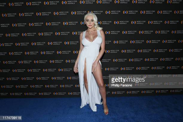 Courtney Stodden attends the Mercy For Animals 20th Anniversary Gala at The Shrine Auditorium on September 14, 2019 in Los Angeles, California.