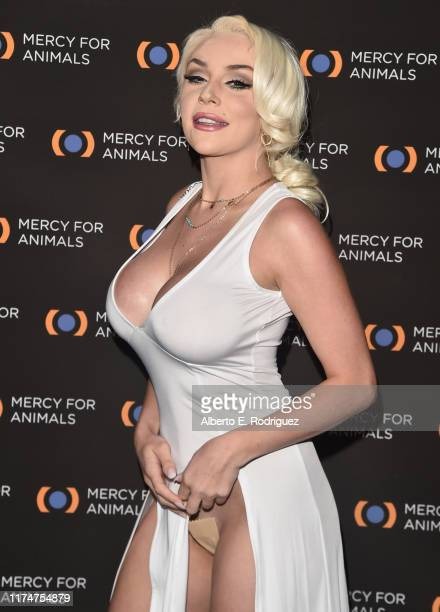 Courtney Stodden attends the Mercy For Animals 20th Anniversary Gala at The Shrine Auditorium on September 14 2019 in Los Angeles California