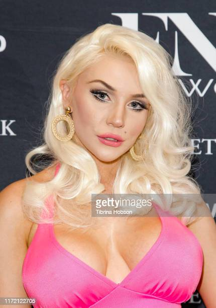 Courtney Stodden attends the premiere of FNL Network's Courtney a reality show about Courtney Stodden on September 03 2019 in Beverly Hills California
