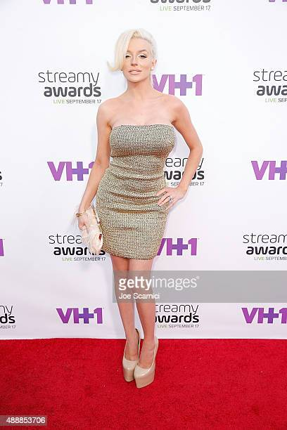 Courtney Stodden attends VH1's 5th Annual Streamy Awards at Hollywood Palladium on September 17 2015 in Los Angeles California