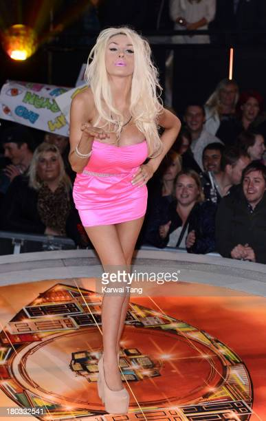 Courtney Stodden is evicted from the Celebrity Big Brother House at Elstree Studios on September 11 2013 in Borehamwood England