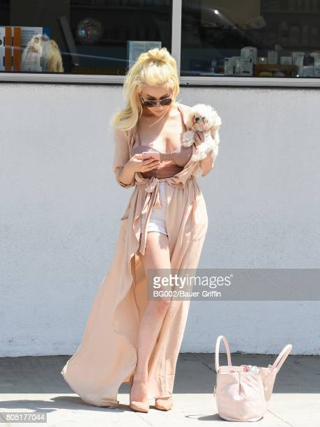 Courtney Stodden is seen on June 30 2017 in Los Angeles California