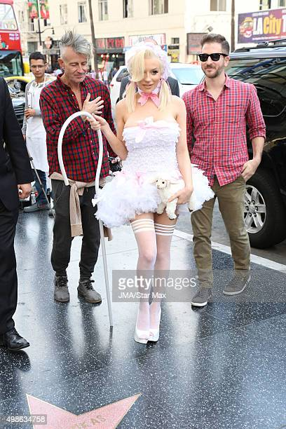 Courtney Stodden is seen on November 24 2015 in Los Angeles California