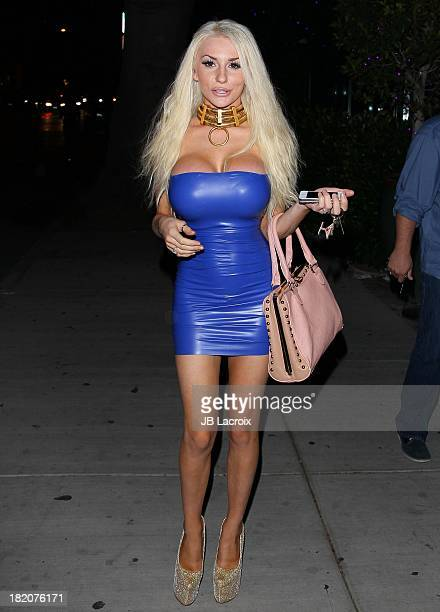 Courtney Stodden is seen on September 27 2013 in Los Angeles California