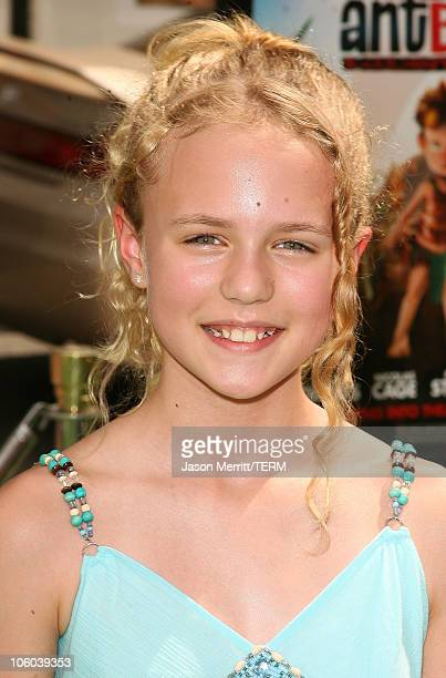 """Courtney Taylor Burness during """"The Ant Bully"""" Los Angeles Premiere - Arrivals at Grauman's Chinese Theater in Hollywood, California, United States."""