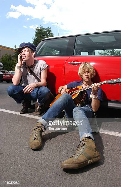 Courtney TaylorTaylor and Peter Loew of the Dandy Warhols