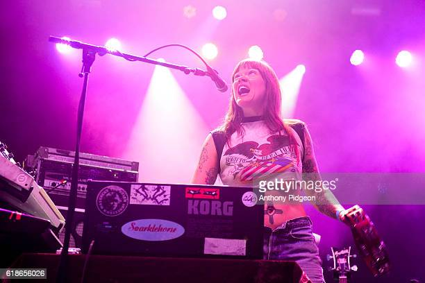 Courtney TaylorTaylor of Dandy Warhols performs onstage at the 94/7 FM Birthday Bash at OMSI Portland Oregon USA on 13th August 2016