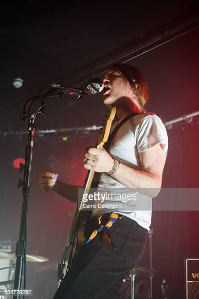 Courtney TaylorTaylor of the Dandy Warhols performs onstage at The Limelight on May 27 2016 in Belfast Northern Ireland
