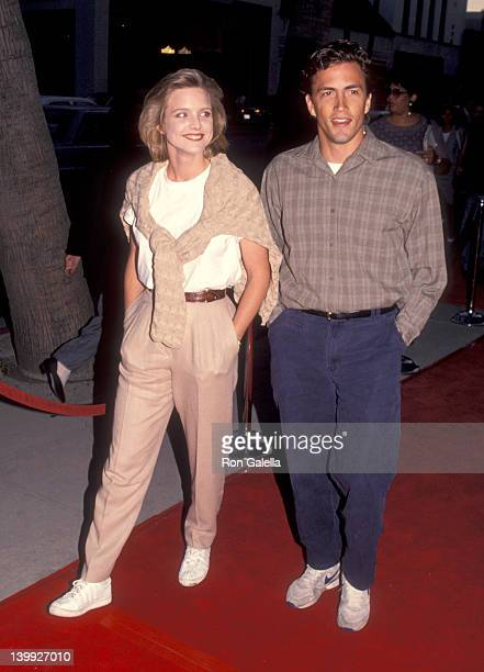 Courtney ThorneSmith and Andrew Shue at the Premiere of 'Heart Souls' Academy Theatre Beverly Hills