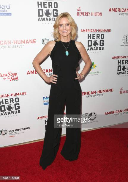 Courtney ThorneSmith at the 7th Annual American Humane Association Hero Dog Awards at The Beverly Hilton Hotel on September 16 2017 in Beverly Hills...