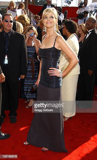Courtney ThorneSmith during 55th Annual Primetime Emmy Awards Arrivals/DeGuire at The Shrine Auditorium in Los Angeles California United States