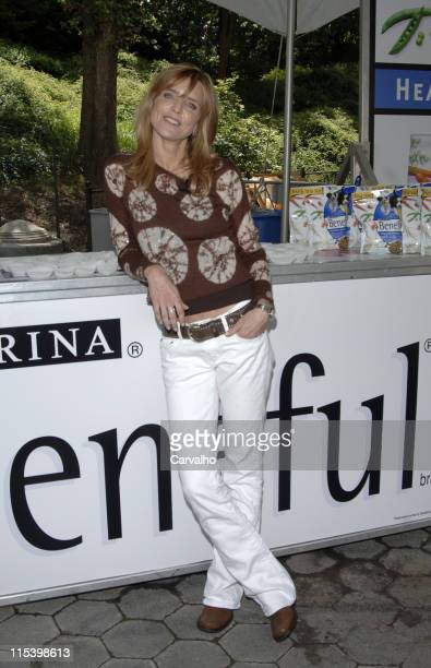 Courtney ThorneSmith during Courtney ThorneSmith Hosts 'Puppy Park' in Central Park June 18 2005 at Central Park in New York City New York United...